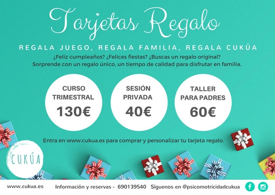 Tarjeta regalo Natación Infantil Tarragona