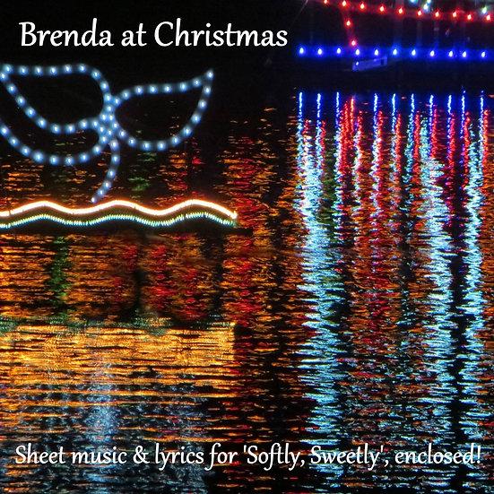 Brenda at Christmas CD