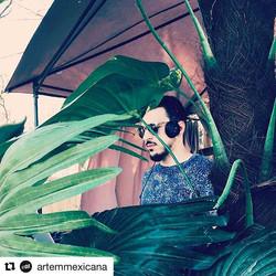 #Repost _artemmexicana with _repostapp_・・・_В джунглях #technoпикник #xzique #xziquemusic