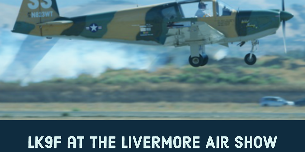LK9F at the Livermore Air Show