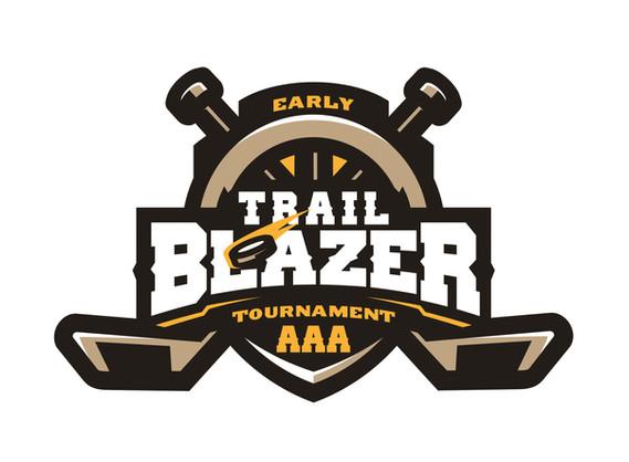 Early Trailblazer Tournament AAA logo design