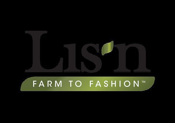 Lisn Farm to Fashion logo design