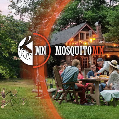 Mosquito MN Pest Control visual marketing advertisement concept