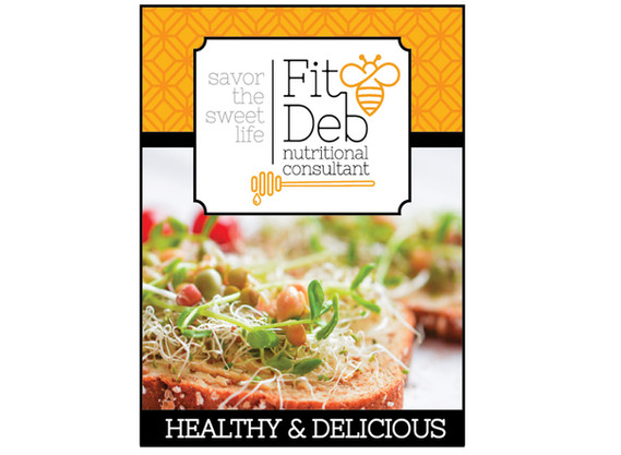Fit Deb Nutrition Consultant social media ad design