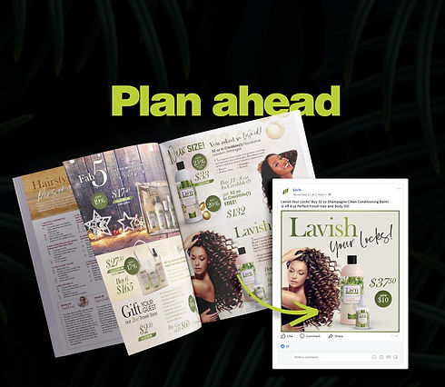 Lisn Farm to Fashion magazine and social media marketing strategy