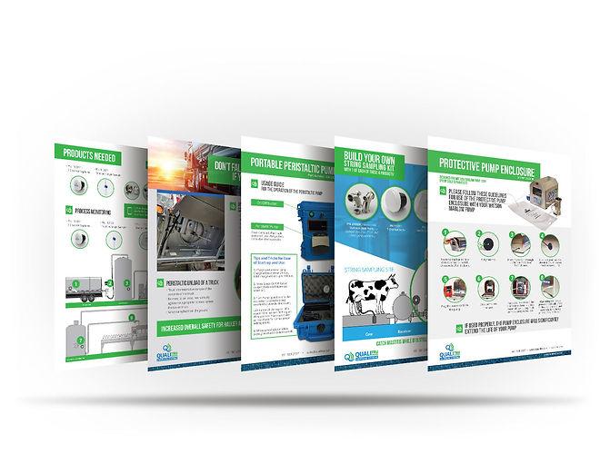 QualiTru Inforgraphic design mockup