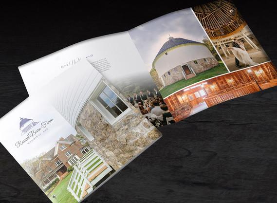Round Barn Farm brochure design