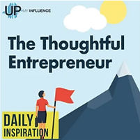 Up My Influence Comprehensive Marketing and Design podcast art