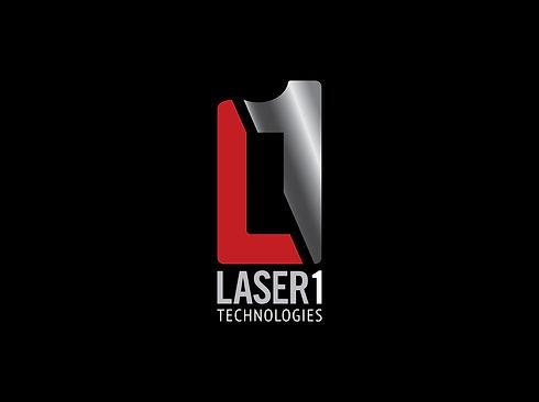 Laser 1 Technologies logo design
