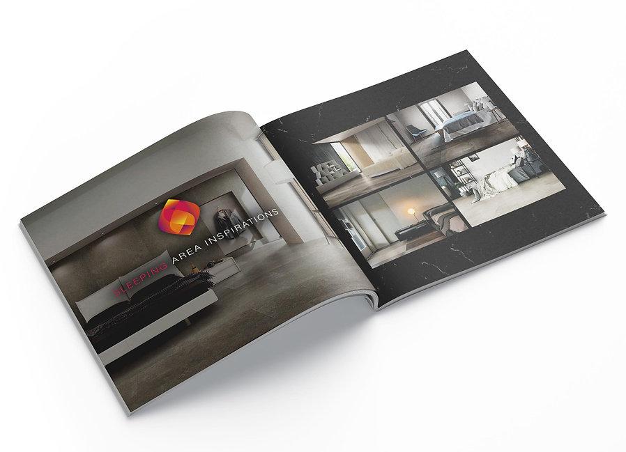 Village Tile product magazine design