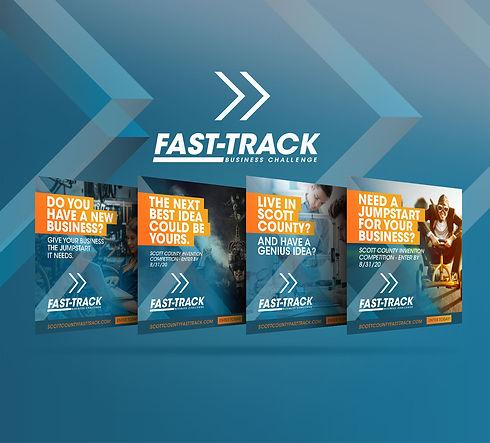 Fast Track social media graphic design