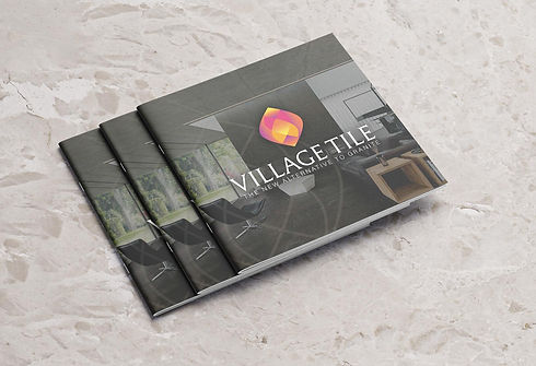 Village Tile magazine design