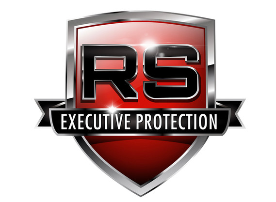 RS Executive Protection company logo design