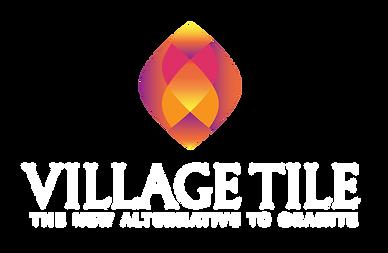 Villate Tile logo design in transparent background