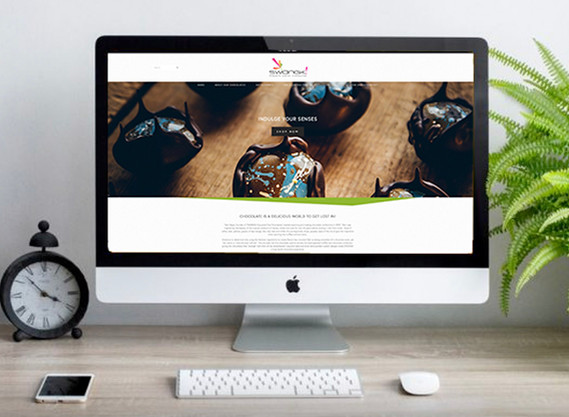 Swangk website design