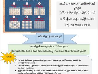 Fall Frenzy Bingo Challenge