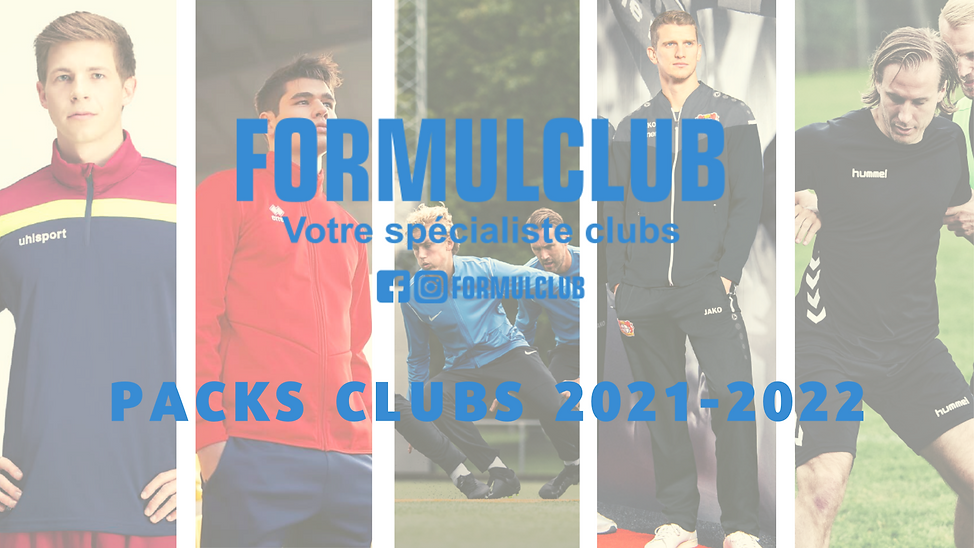 PACKS CLUBS FORMUL CLUB 2021-2022 - Prés