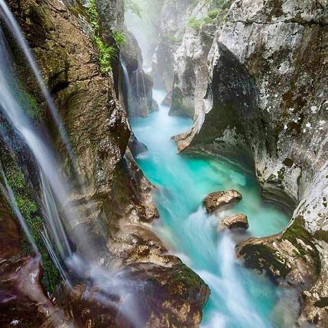 River Soca gorge