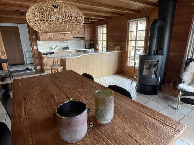 Neuer Kaminofen in der Ferienwohnung