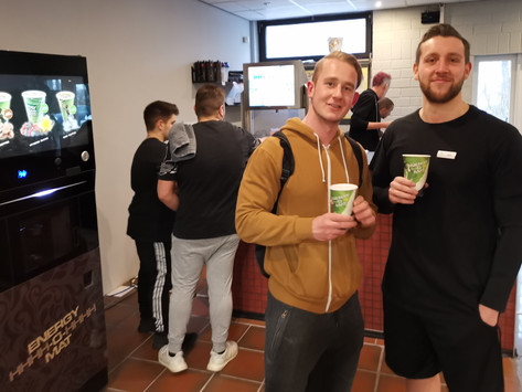 Xtra Sport setzt nun auch auf frische Getränke Zubereitung für die Mitglieder!