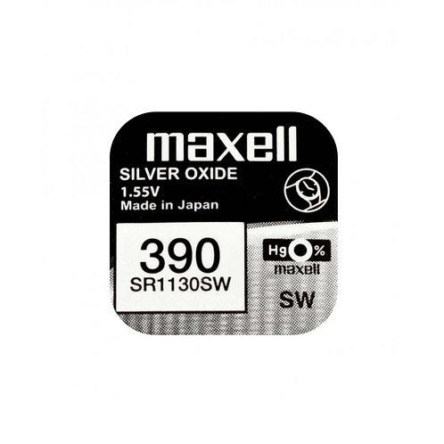 1 x SR1130SW 390 Maxell Micro Pila de Reloj Óxido de Plata