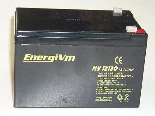 EnergiVm batería plomo MV12120 12V 12AH