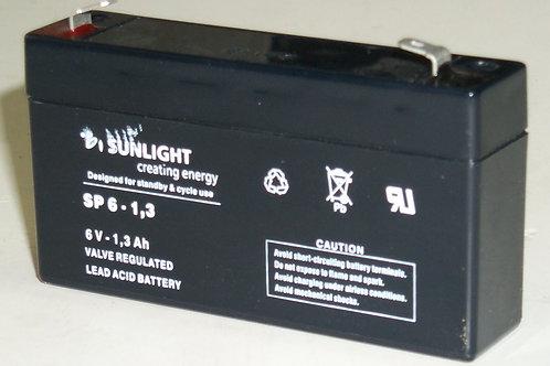 6V 1,2Ah Shimastu batería plomo NP