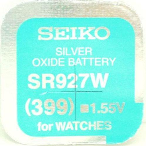 1 x SR927W 399 Seiko Micro Pila de Reloj Óxido de Plata