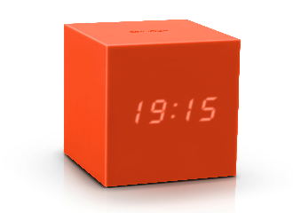GK18OE - Gravity Click Clock - Naranja
