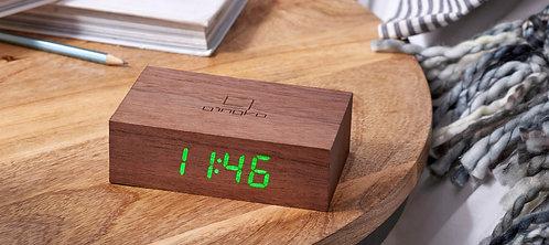 G003W8 - Flip Click Clock - Nuez