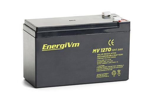12V 7AH EnergiVm batería plomo MV1270