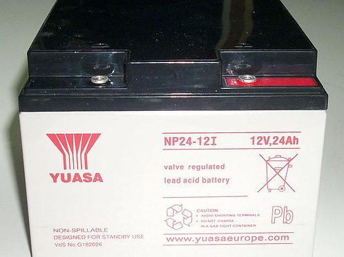 Yuasa batería plomo NP24-12I 12V 24AH