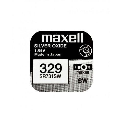 1 x SR731SW 329 Maxell Micro Pila de Reloj Óxido de Plata