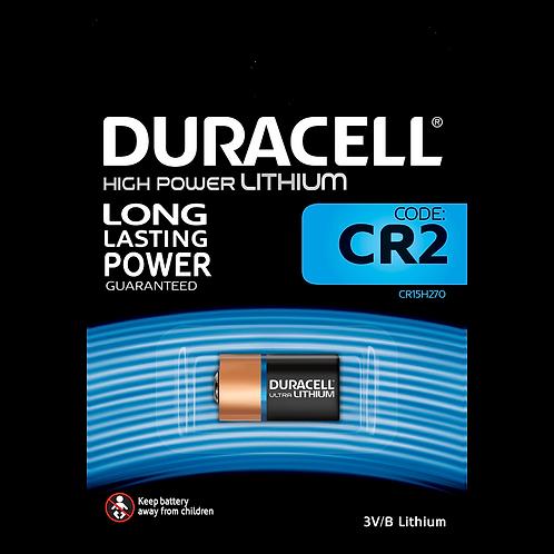 CR2 3V Pila Duracell Litio CR-2-1BP