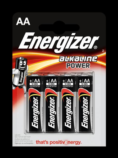 LR6 AA Energizer Alcalina blister 4 unidades