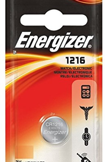 10 x CR1216 Energizer 3V Litio