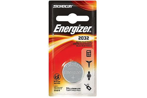 10 x CR 2032 Energizer 3V Litio CR2032