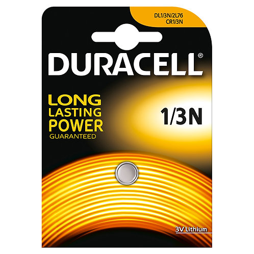 1 PILA DURACELL 3V 1/3N DL1/3N 2L76 CR1/3N 5018LC CR11108
