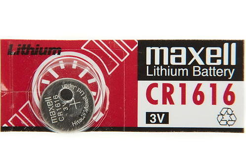 1 x CR1616 Maxell 3V Litio
