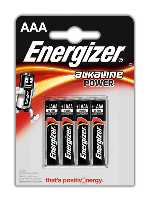LR3 AAA Energizer Alcalina blister 4 unidades