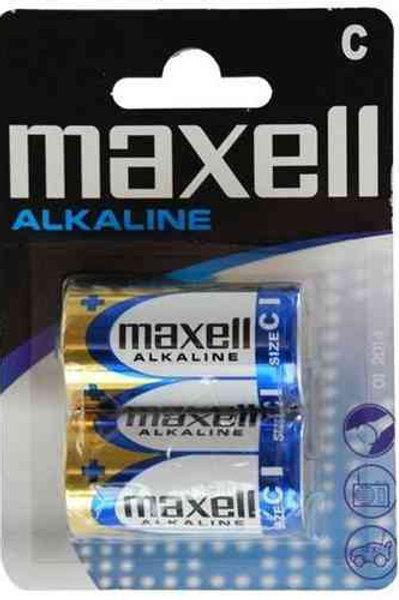 LR14 C 1.5V Maxell Alcalina bilister 2 unidades