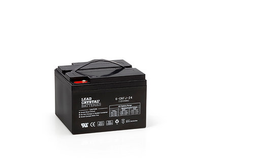 Batería de Plomo-Cristal 6-CNFJ-24 de 12V 27Ah