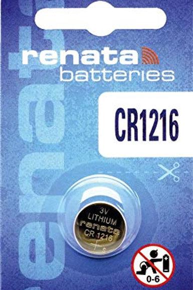 10 x CR1216 Renata 3V Litio