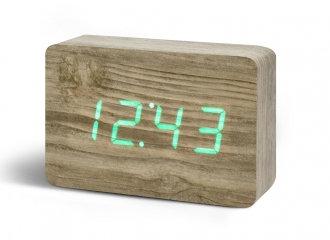 GK15G12 - Brick Click Clock - Ceniza