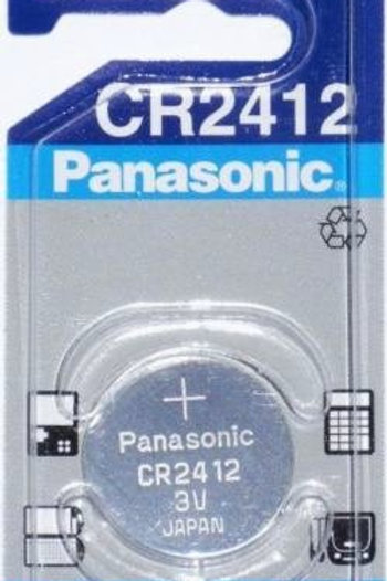1 x CR2412 Panasonic