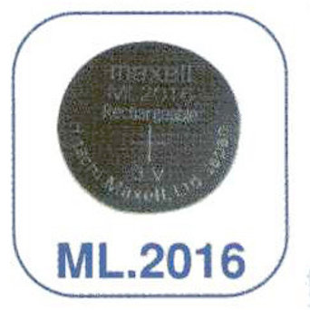 Acumulador relojería Casio ML2016