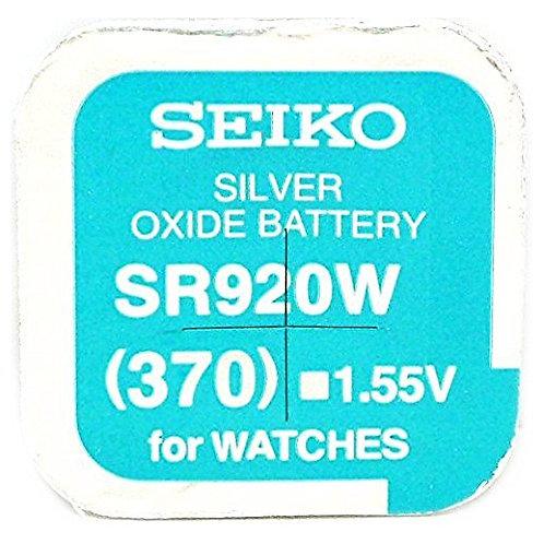 1 x SR920W 370 Maxell Micro Pila de Reloj Óxido de Plata
