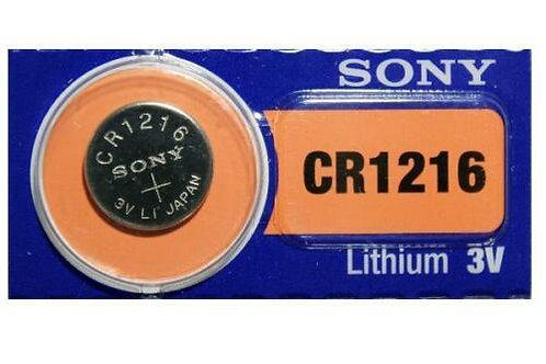 1 x CR1216 Sony 3V Litio