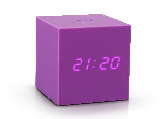GK18PE - Gravity Click Clock Morado