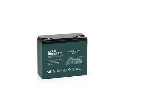 Batería de Plomo-Cristal 6-CNFJ-18 de 12V 18Ah